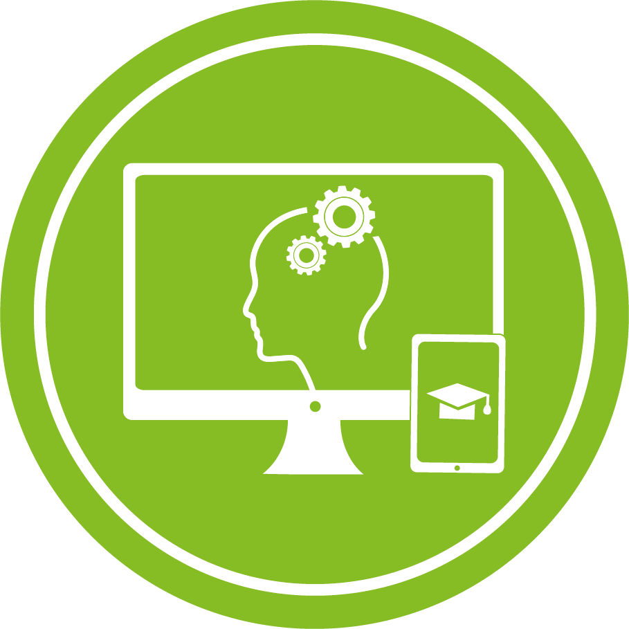 E Learning Icon Zahnrad SUHM